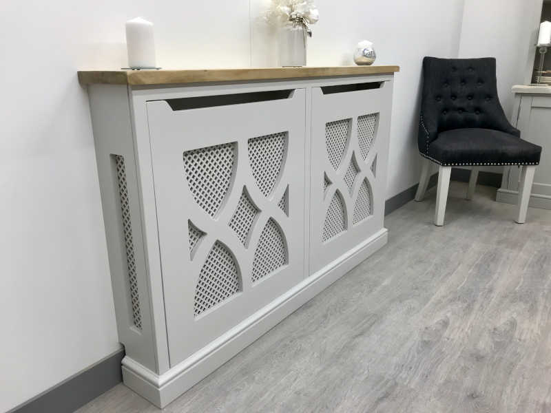 Bespoke Radiator Covers - Pattern Front