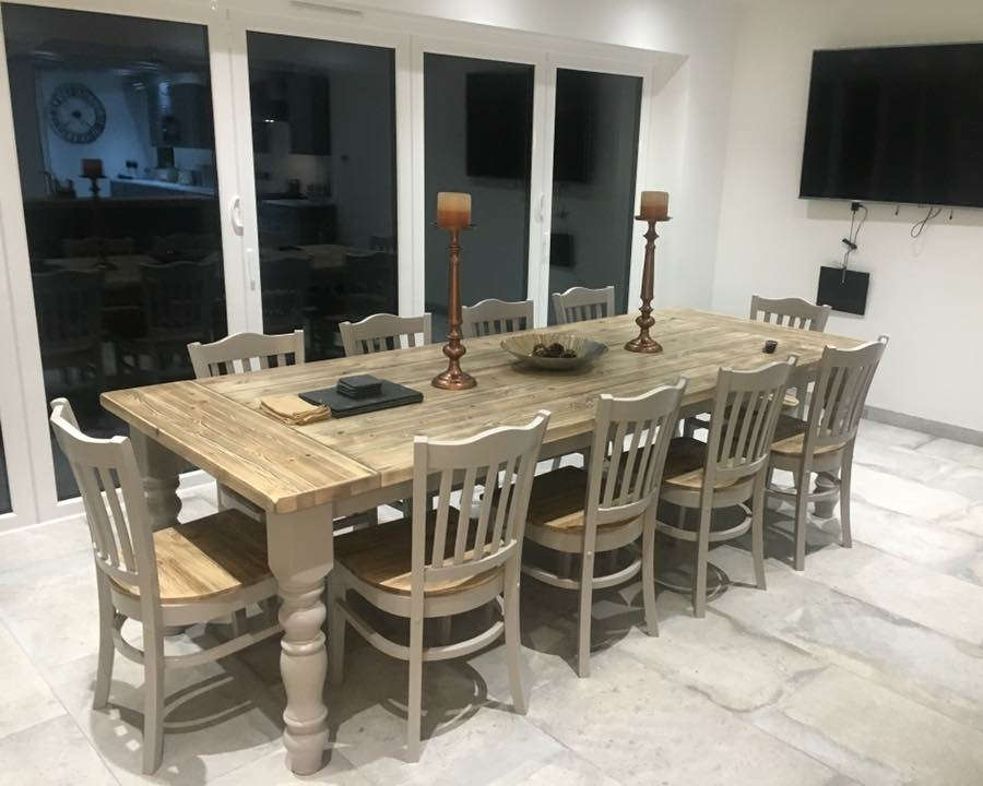 10 Seater Dining Sets Farmhouse Furniture Shop