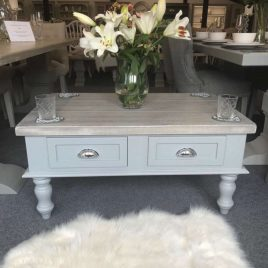 Distressed Grey - Coffee Table and Side Tables