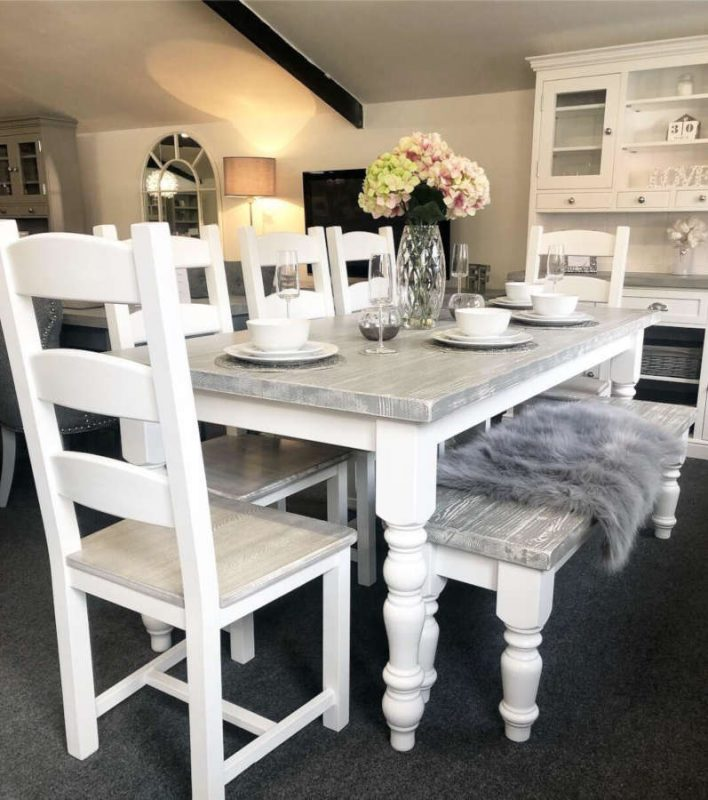 Table And Chairs Farmhouse Furniture