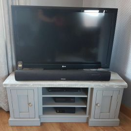 Distressed Grey - TV Units