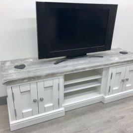 Distressed Grey - TV Units