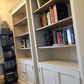 Living Room - Bookcases